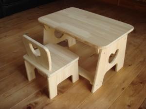 幼児用テーブルセット