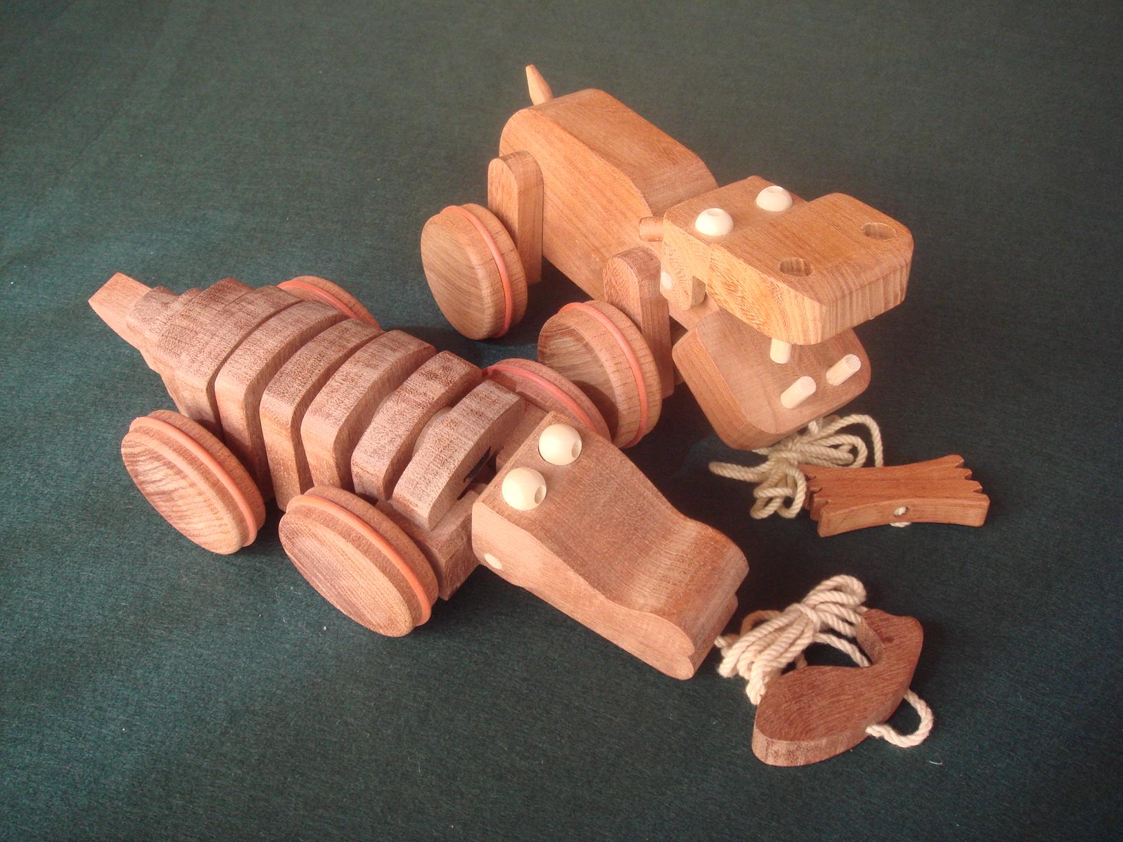 手作りプルトイのイメージ