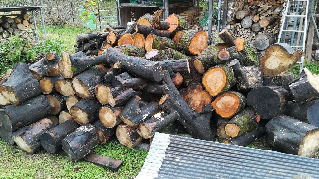 薪材の大量入手