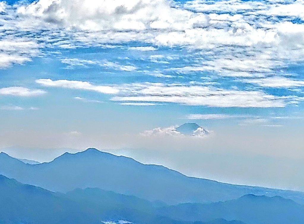 清里テラスより富士山