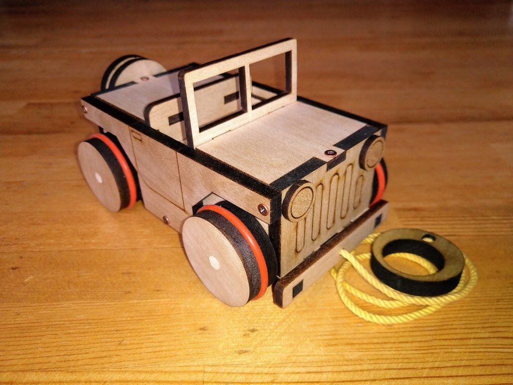 オルゴール車:ジープ